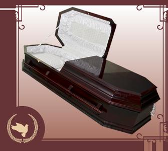 Саркофаг деревянный лаковый